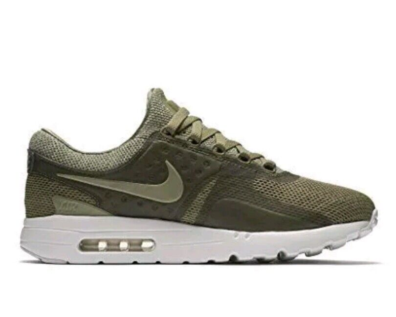 Nike Mens Size 9 Air Max Zero BR Running Shoes Sneaker Khaki Green 903892-200