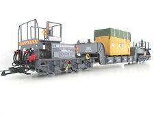 Magnus Schwerlastwagen Transformatorwagen Metall Güterwaggon Spur G LGB