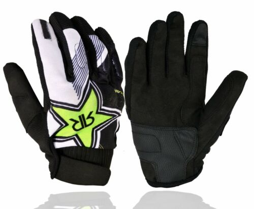 New Sports Road Bike Cycle Racing Gloves Breathable Full Finger Race Track Glove