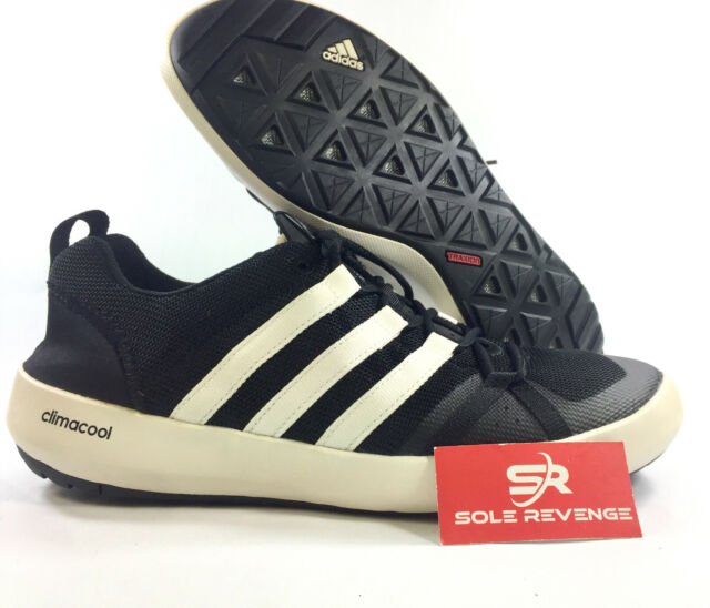 new style 2aa01 f5a90 NEW adidas Climacool Terrex BOAT Lace BB1904 Water Outdoor Shoes Black  White CC