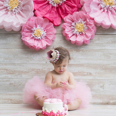 Princess Baby Girl 1st Birthday Flower Crown-Party One /& Two Year Hairband S!