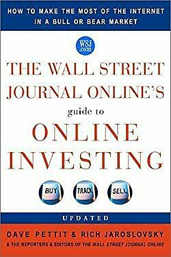 Wall Street Journal Online's Guide to Online Investing : How to Make t-ExLibrary