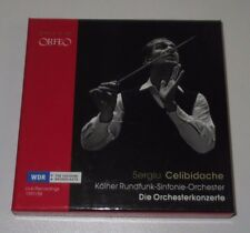 5 CD BOX/SERGIU CELIBIDACHE/DIE ORCHESTERWERKE/Orfeo C 725085