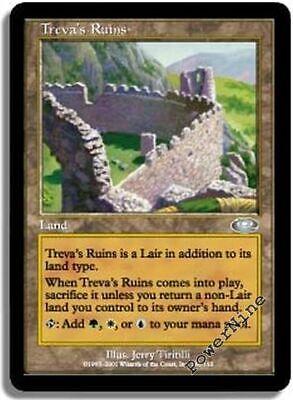 MTG 1x TREVA/'S RUINS Planeshift *Land FOIL NM*