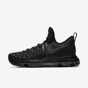 pretty nice 0e3eb f58b4 Image is loading NIKE-ZOOM-KD-9-BLACKOUT-MENS-KEVIN-DURANT-