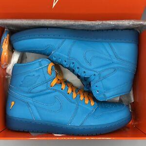 f272d2fc2e4a Nike Air Jordan Retro I Gatorade Cool Blue Lagoon Size 10 AJ5997 455 ...