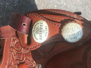 tex tan by Hereford western saddle
