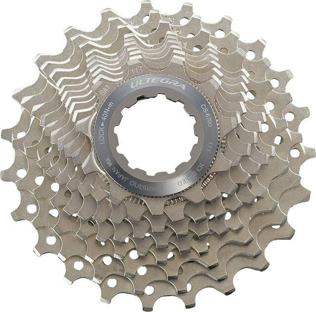 SHIMANO ULTEGRA 6700 10 SPEED---12-30T ROAD BICYCLE CASSETTE