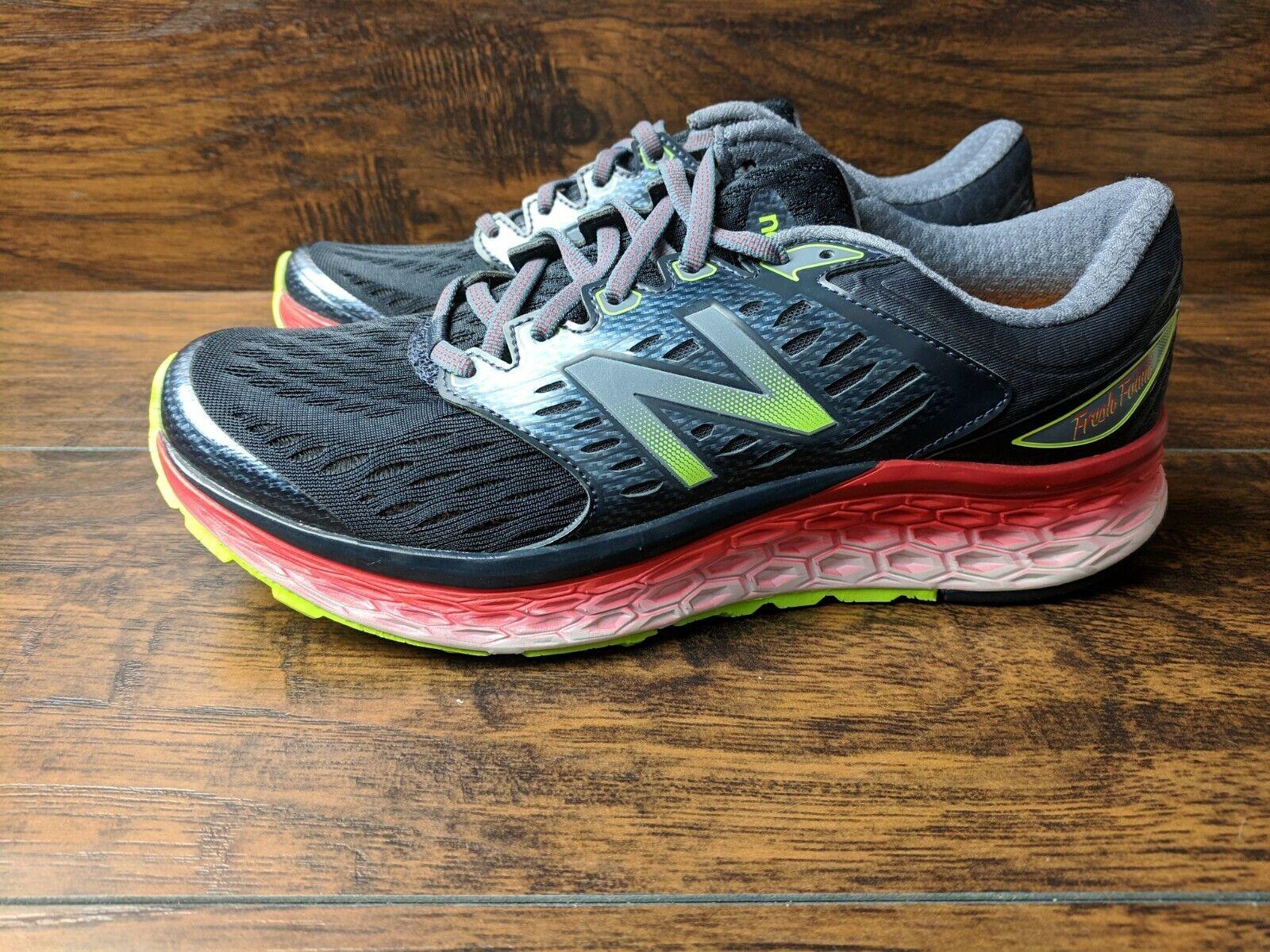 Marca nueva espuma Fresco New Balance M1080BK6 para hombres talla 9 calzado para correr