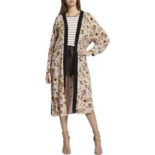 Sanctuary Womens Pink Floral Print Belted Duster Kimono O/s BHFO 0276