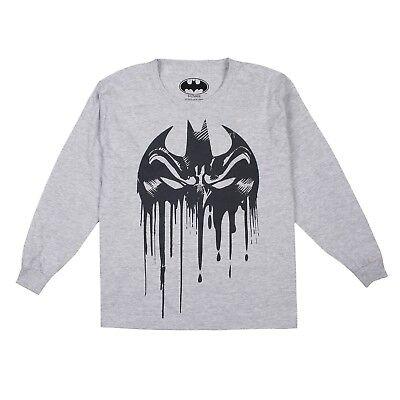 Black DC Comics Kids Official Batman Boys Sweatshirt