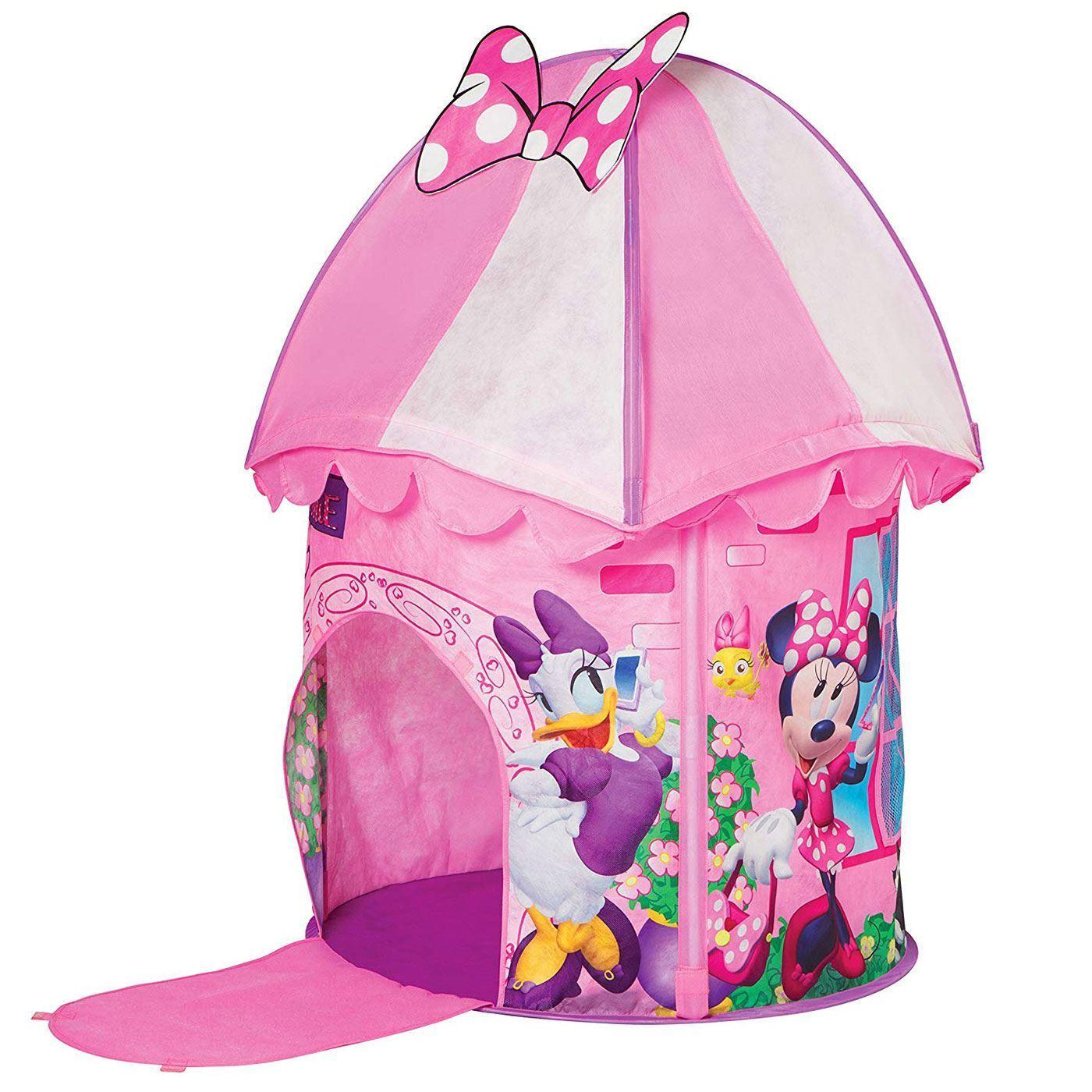 toma Minnie Minnie Minnie Mouse Happy Ayudantes Tienda Juguete Plegable Cubierta Al Aire Libre  mejor precio