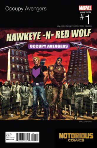 Occupy Avengers #1 Hip Hop Variant Marvel Comics 1st Print