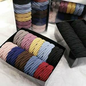 Wholesale-20x-Elastic-Hair-Ties-Band-Ropes-Ring-Strong-Ponytail-Holder-Hairband