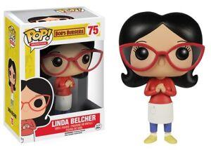 Linda Belcher Bobs Burgers TV Show POP! Animation #75 Vinyl Figur Funko