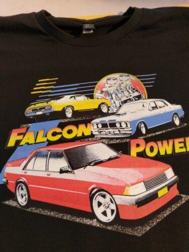 FORD FALCON XY XC XD Falcon Power   Retro Vintage CLASSIC PRINTED  T SHIRT
