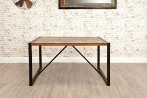 Image Is Loading Small Dining Table Rustic Solid Wood Vintage