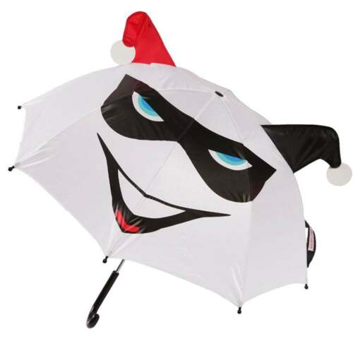 HARLEY Quinn 3D Ombrello Licenza Ufficiale DC Comics Bianco Pop Up Cosplay