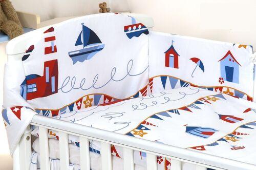 plus Designs Blue Elephant Baby Bedding Set Fit Cot 120x60cm ou lit bébé 140 x 70