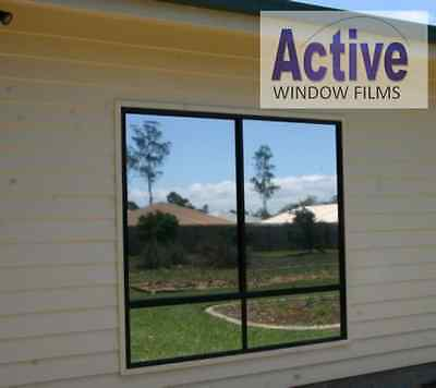 MIRROR SILVER 152cm 100 76 PRIVACY ONE WAY WINDOW TINTING PRO TINT FILM 51