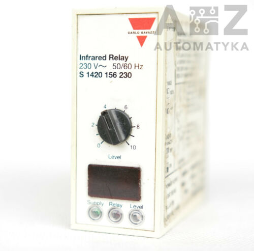 CARLO GAVAZZI S-1420-156-230 INFRARED RELAY S1420156230