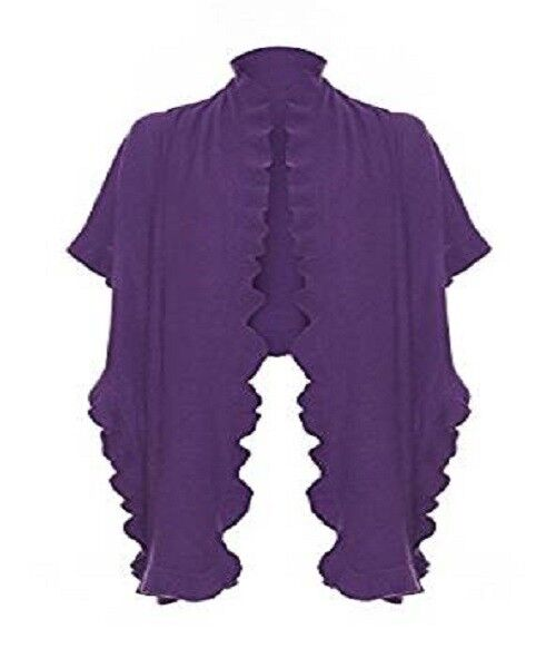 Pure Cashmere Ladies Frilly Frilly Frilly Stole 185c92
