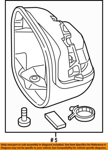 Cover Right 76205TR4A21 HONDA OEM Door Side Rear View Mirror-Housing or Cap
