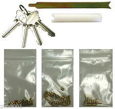 Schlage Rekey Kits 4 Keys 12 Locks Rekeying Pins Kit 6 Pin Locksmith Key Tools