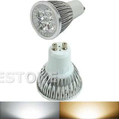 GU10 9W 12W 20W Cool/Warm White LED Bulb Spotlight Light Lamp Saving Energy New