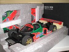 MAZDA 787b LE MANS WINNER/vincitore 1991 in 1:18 di Autoart