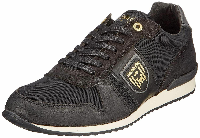 Pantofola d'Ora Umito Uomo Low nero  Mens Leather Trainers  risparmia fino al 70%