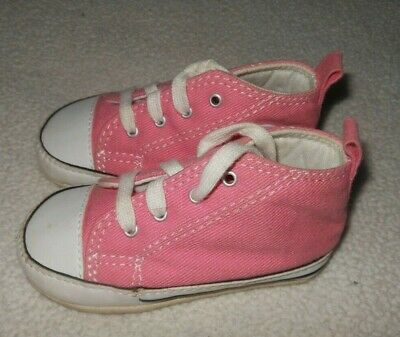 Baby Girl Pink Converse 4 Shoes Infant