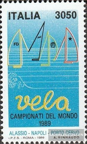 Italy 2075 complete issue unmounted mint never hinged 1989 SailingWM