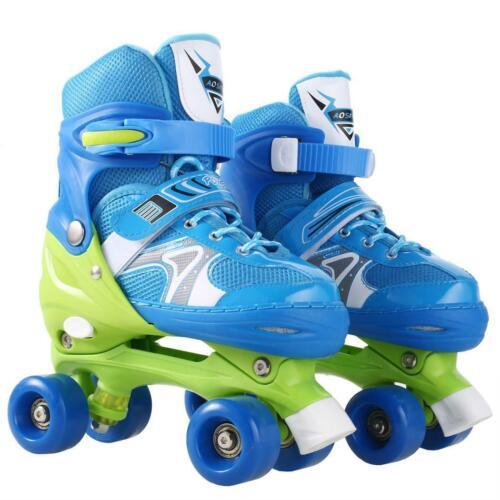 Kinder Rollschuhe Rollerskater Größe verstellbar Inlineskate Schlittschuh DE