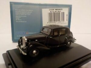 Model-Car-Bentley-Mkv1-Black-1-76-New