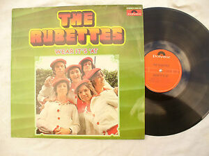THE-RUBETTES-LP-WEAR-IT-039-S-039-AT-polydor-2460-240-German-issue-N-M-33rpm-pop
