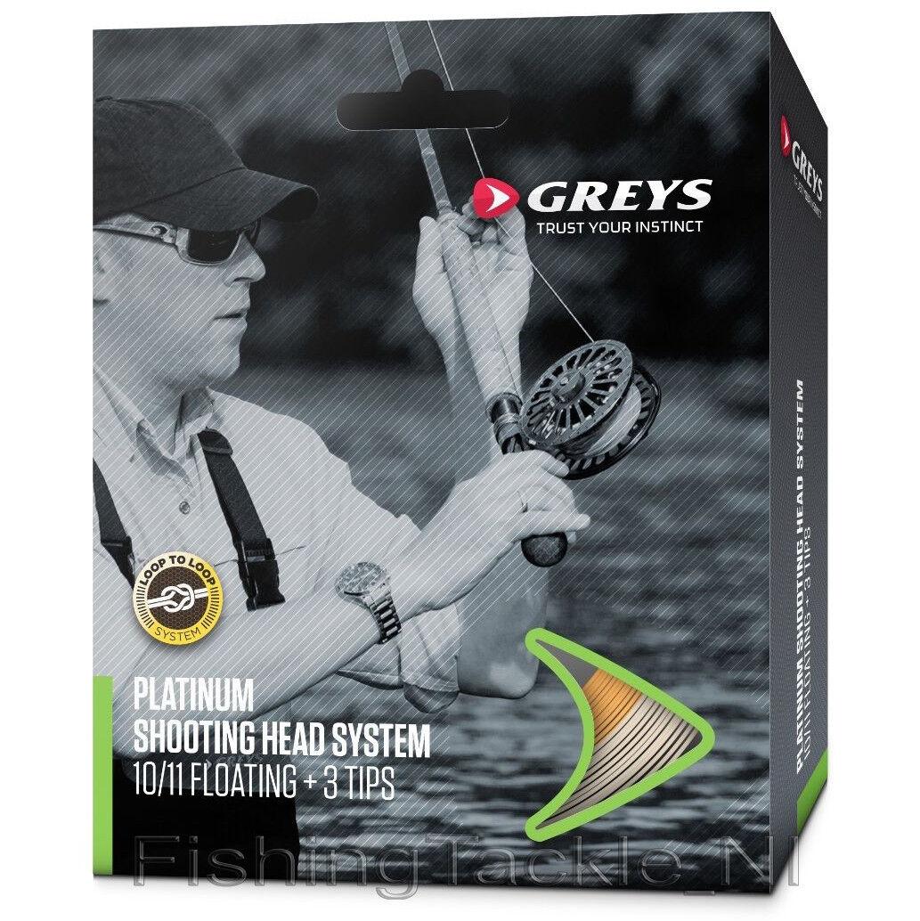 Greys Platinum Shooting Head System Fly Line  11 Intermediate Fishing RRP