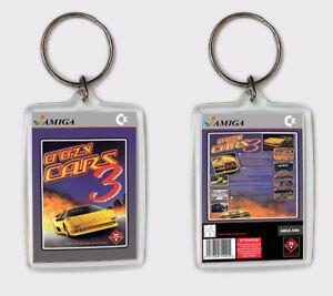 Crazy Cars 3 Commodore Amiga Llavero Keyring RéSistance Au Froissement