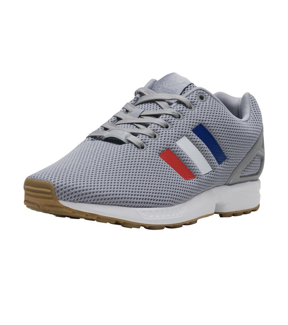 Adidas originali zx flusso di scarpe da corsa, uomo noi 9 grey tricolore