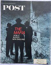 SATURDAY EVENING POST Nov 18 1967 * McNamara * The Mafia * Raquel Welsh