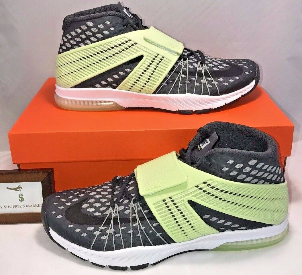 150 NIKE MENS SIZE 11 ZOOM TRAIN TORANADA AMP WOLF GREY VOLT GRONK NEW IN BOX