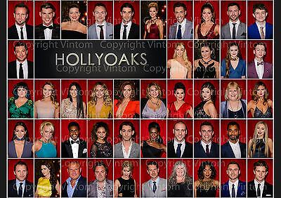 Hollyoaks Cast Poster Picture Photo Print A2 A3 A4 7X5 6X4