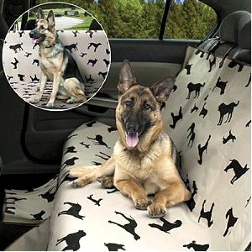 New Pet Dog Seat Cover For Car Waterproof Back Seat Plush Rear Protector Travel