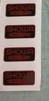 Honda Showa Fork Decal Shock Decal ATC 250R 1985-86