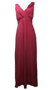 NEW BODEN Silk Maxi Flower Sleeve Dress Size US 8