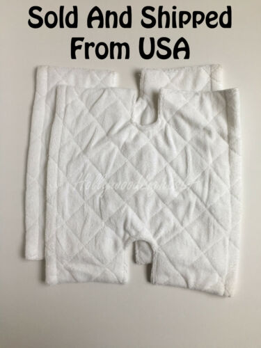 2x Rectangle Replacement Pad for Shark Genius Steam Mop Washable S6001 S6002