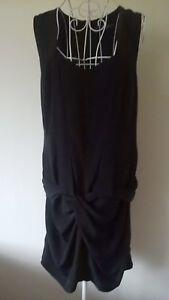 firma drappeggio Regno abito e Splendido Eveline Unito nero con cqtHcRa6