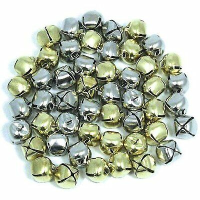 Gold & Silver Jingle Bells 50 Pieces
