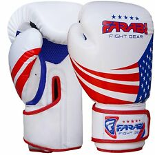 Farabi Kids Boxing Gloves Muay Thai Kick Boxing Training Mma Punching Bag Gloves