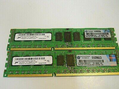 Micron DDR3 PC3-10600R 2Rx8 RAM 2GB MT18JSF25672PDZ-1G4G1HE
